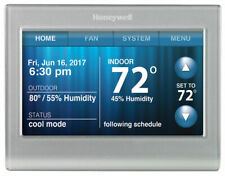Honeywell RTH9580WF Wi-fi Smart Touchscreen Thermostat + Back Plates NEW