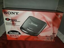 Sony D-141 Discman CD Compact Portable Player Walkman NEW UNOPENED