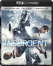 DIVERGENT : INSURGENT (4K ULTRA HD) - Blu Ray -  Region free