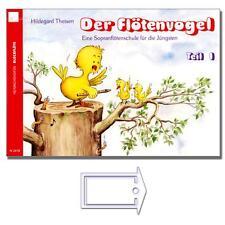 Der Flötenvogel Band 1 - Flötenschule mit NotenKlammer - N2070 - 9783938202241