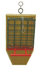 Dual Suet Feeder 2 seed cake holder for perchers with tail prop