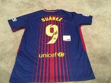 Luis Suarez Autographed Signed Barcelona Soccer Jersey PSA/DNA COA Uruguay