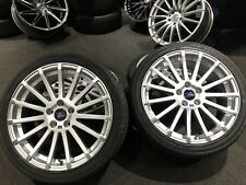 """Ex Display 18"""" Ford RS Style Alloy Wheels & 225/40/18 Tyres For Transit Connect"""