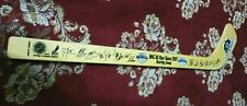 2007 NHL All Star game Autograph Signed Mini Hockey Stick (Western conference)