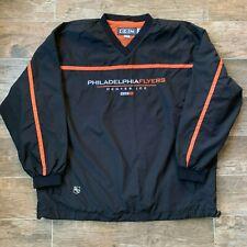 NEW Philadelphia Flyers CCM Lightweight Authentic Windbreaker Jacket Embroidered