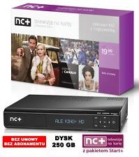 NC+ Start+ TNK Telewizja na kartę Dekoder Receiver HD z kartą 1Miesiąc Gratis