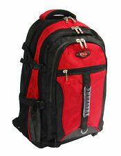 Large Rucksack Backpack Travel Hiking Sports Camping Biking Mountaineering Red