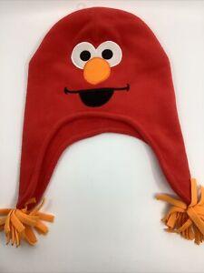 Sesame street toddler Fleece Elmo Hat Cap