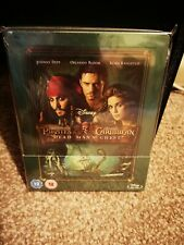 Pirates of the Caribbean: Dead Man's Chest Bluray Steelbook NEW SEALED