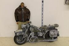 21st Century Steve McQueen with gray motorcycle LOOSE