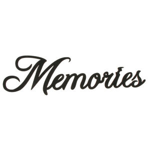 Wooden Black Memories Wooden Gift Sign Home Table Wall Decor Art Craft Decor