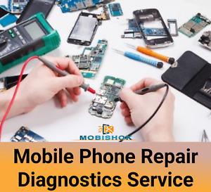 Mobile Phone Diagnostics Repair Service Next Day Repair & Return