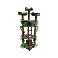 New listing Cat Tree Tower Large Scratching Post Forest Pet Furniture Kitten House Bed New