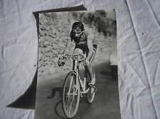 FAUSTO COPPI BIANCHI CARTOLINA  VIAGGIATA 1952 CICLISMO