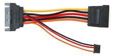 Female SATA to Male SATA Plus 3-Pin Slimline Optical Drive Power Cable