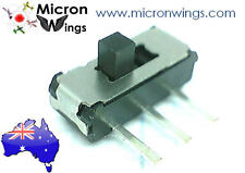 10Pcs 3 Pin 2 Position SPDT 1P2T Mini Micro Right Angle Slide Switch