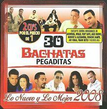 30 Bachatas Pegaditas: Lo Nuevo y lo Mej CD
