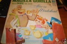 MAGILLA GORILLA RARE LP HANNA BARBERA RECORD 60S HBRLBL