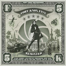 FORT KNOX FIVE 5 REMIXED nicodemus Krafty kutz Kraak & Smaak Skeewiff MALENTE CD