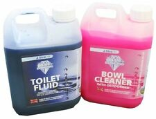 Blue Diamond Chemical Toilet Fluid Caravan Twin Pack 2L for Caravan Motorhome