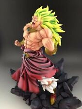 "Dragon Ball AF Dragonball Z Goku Super Saiyan Broly Deluxe Figure Resin 14"" in"