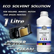 1 Liter ECO SOLVENT Fluid  Printer Head Cleaner for Roland, Mimaki, Mutoh EU