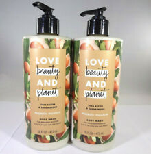 Love Beauty and Planet Shea Butter & Sandalwood Body Wash 2 Pack (16oz) [Hb-L]