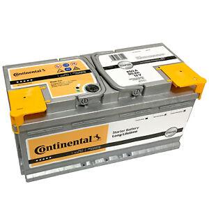 Autobatterie Continental 12V 85Ah 760A Starterbatterie Wartungsfrei Batterie