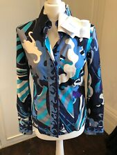 Stunnig Emilio Pucci Blouse. Size 40 Brand New With Tags