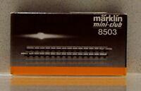 MARKLIN 8503 STRAIGHT TRACK 55MM  2-3 INCHES NEW IN BOX 10 PCS IN ONE BOX