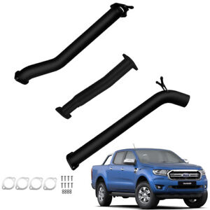 FORD PX RANGER 2016-2020 3.2L TD 3''INCH DPF BACK EXHAUST WITH DIFF PIPE