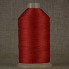 Incollato NYLON filati per cucire 20V 1.500 MTR ROSSO 20 TKT 150 tex leather repair Oxley