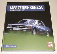 Libro Ilustrado Mercedes-Benz R107/C 107 Sl + SLC 280 300 350 380 420 450 500