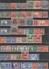 BAHRAIN COUNTRY COLLECTION OF 109 DIFFERENT MINT HINGED & USED 1933//1960 ISSUES