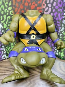 "GIANT SIZE 13"" Donatello Teenage Mutant Ninja Turtles Figure *REPAIR NEEDED*"