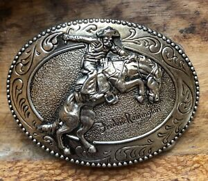 Frederic Remington Art Museum The Bronco Buster Belt Buckle, Collectible, Gift