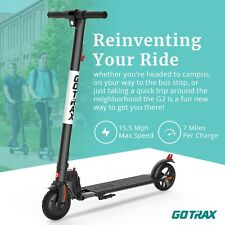"Gotrax G2 Commuting Electric Scooter - 6.5"" Tires + Portable Folding Frame"