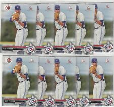 Lot of (10) 2017 Bowman Draft NATE PEARSON Rookie Card BD-119 Blue Jays QTY Avai