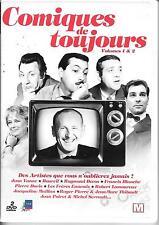 2 DVD ZONE 2--COMIQUES DE TOUJOURS VOL.1 & 2--YANNE/DEVOS/BOURVIL/DORIS/MAILLAN