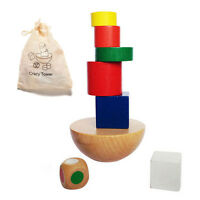 Colorful Wooden Balancing Game Children Educational Building Kid Toy `9U A8A