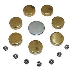 Freeze Plug Kit  GM 7.4L & 8.2L Gen IV Brass 1968-Up