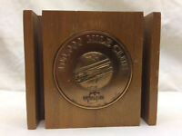 Vintage United airlines 100,000 Mile Club Paperweight