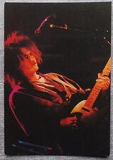 Carte postale THE CURE en concert postcard