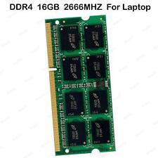 For Micron 16GB DDR4 2666MHz PC4-21300 260 pin Sodimm Laptop Memory RAM BT02