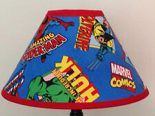 Marvel Comics Superheroes Fabric Children's Lamp Shade