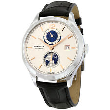 MontBlanc Heritage Chronometrie Dual Time Mens Watch 113779
