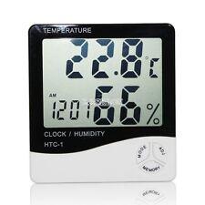 Digital LCD Indoor/ Outdoor Thermometer Hygrometer Temperature Humidity Meter EA