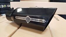 "OFFROAD ARSENAL 5"" INLET 7"" OUTLET 18"" OCTAGON DIESEL EXHAUST TIP GLOSS BLACK L"