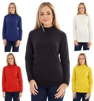 Ladies BHS Long Sleeve Sweater Turtle High Neck Jumper