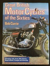 Great British Motor Cycles of the Sixties Hardcover Dust Jacket Bob Currie VG